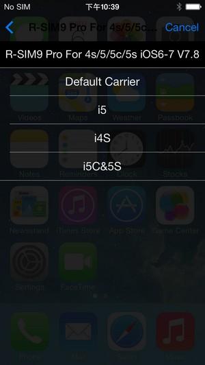 Tuto R Sim 9 Pro Desimbloque L Iphone5s 5c 5 4s