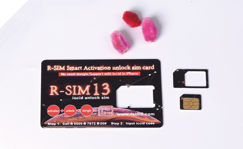 R-SIM13 smart activation unlock sim card for all iphone