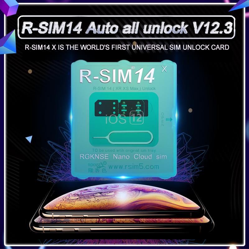 R-SIM14 Auto unlock V12 3 Version----pop up menu ,unlock for