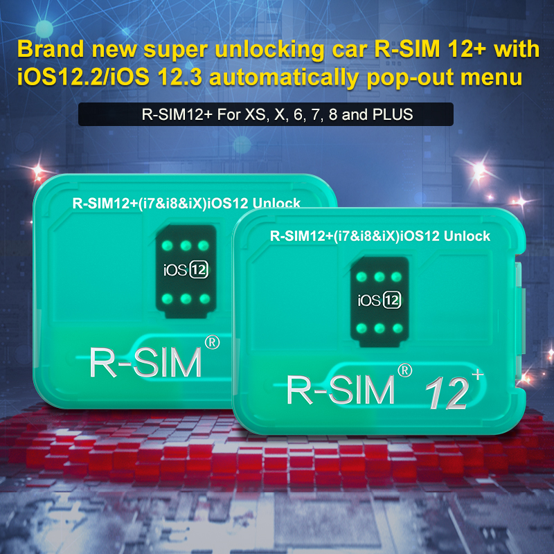 R-SIM12+ brand new Auto unlock IOS 12 2