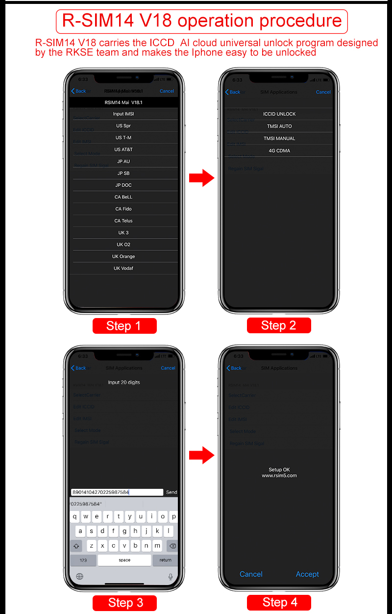 Newest R-SIM12 V16 ,R-SIM14V18 Mai mode unlock for IOS12 4 released